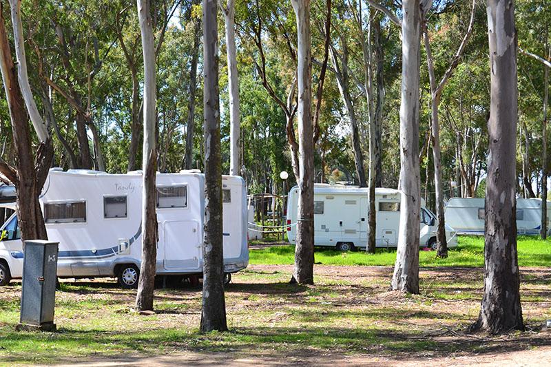 Plots Camping Playa Taray